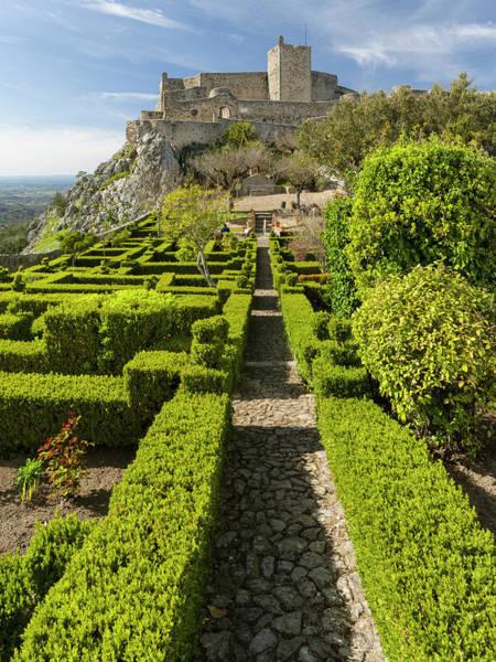 Castle Garden Photograph - Moorish Castle In Marvao, Alentejo by Martin Zwick