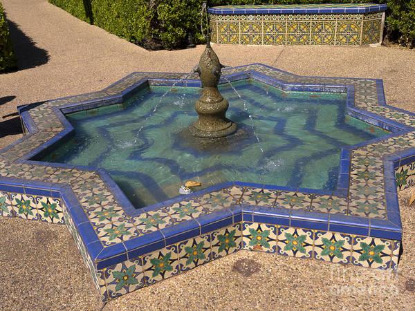 Photograph - Moorish Fountain by Brenda Kean