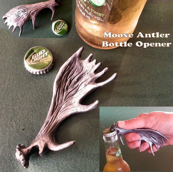 Sculpture - Moose Antler by Tim  Joyner