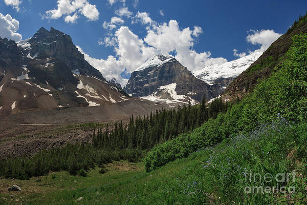 Photograph - Moraine And Lefroy by Charles Kozierok