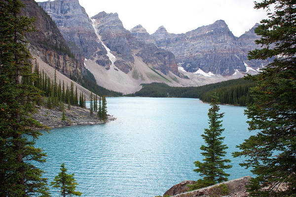 Moraine Lake Photograph - Moraine Lake by William Andrew