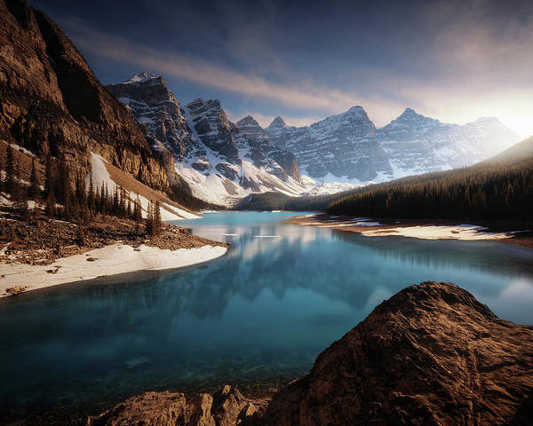 Wall Art - Photograph - Moraine Me. by Juan Pablo De