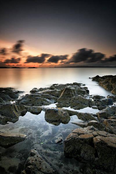 Photograph - Morar Sunset by Grant Glendinning