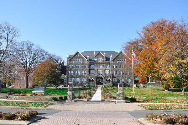 Photograph - Moravian College - Bethlehem by Bill Cannon