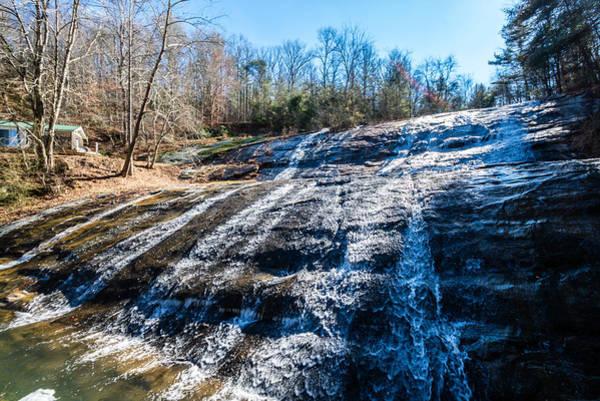 Photograph - Moravian Falls by Randy Scherkenbach