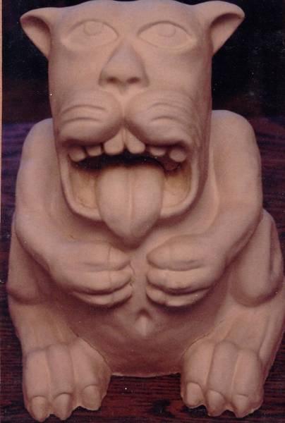 Ceramic Art - Mordo by Charles Lucas