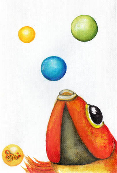 More Bubbles Art Print
