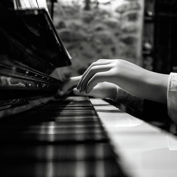 Piano Photograph - More Music Please by Marco Antonio Cobo