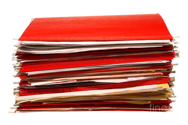 Index Photograph - More Paperwork by Olivier Le Queinec