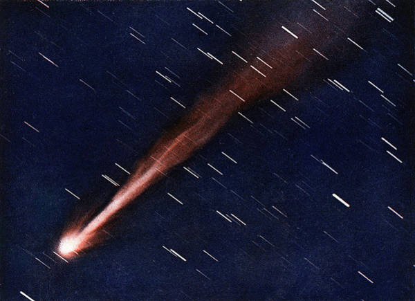 Wall Art - Photograph - Morehouse's Comet Photographed by Mary Evans Picture Library