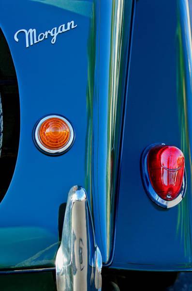 Photograph - Morgan Taillight by Jill Reger