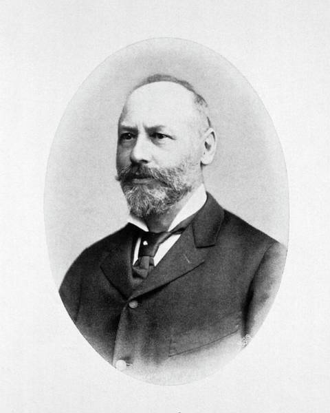 Outstanding Photograph - Moritz Kaposi by National Library Of Medicine