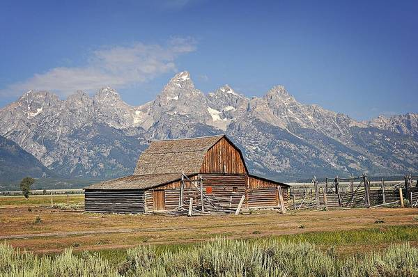 Photograph - Mormon Barn 2 by Marty Koch