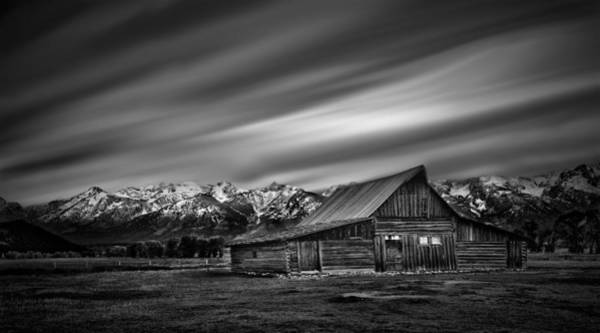 Photograph - Mormon Row Historic Barn by Paul W Sharpe Aka Wizard of Wonders