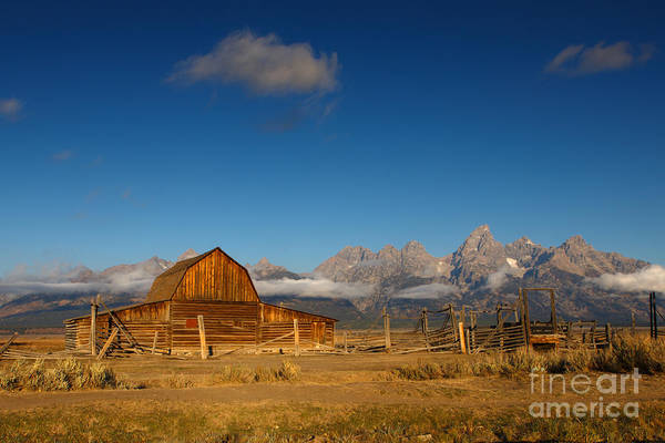 Photograph - Mormon Row - The Second Choice by Beve Brown-Clark Photography