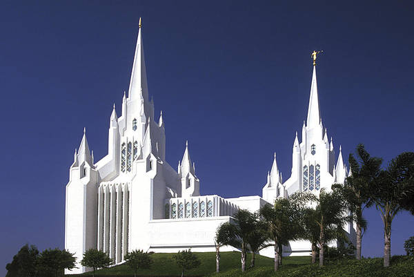 Photograph - Mormon Temple by Paul W Faust -  Impressions of Light