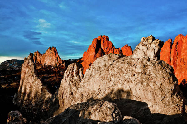 Toughness Photograph - Morning At Garden Of Gods by Photo By Matt Payne Of Durango, Colorado