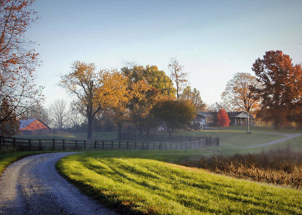 Photograph - Morning At Glenn Valley Farm by Cricket Hackmann