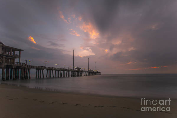 Photograph - Morning At Jennette Pier by Dan Friend