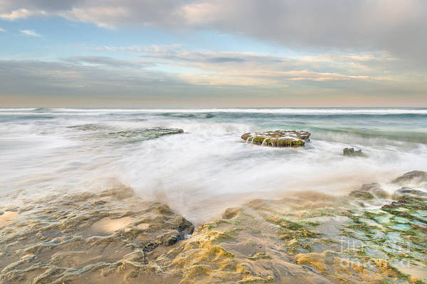 Cardiff Photograph - Morning At Tabletop Reef by Alexander Kunz