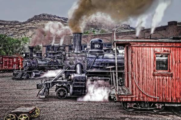 Wall Art - Photograph - Morning At The Roundhouse by Ken Smith
