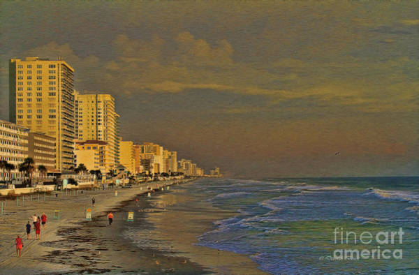 Photograph - Morning Beach Walk by Deborah Benoit