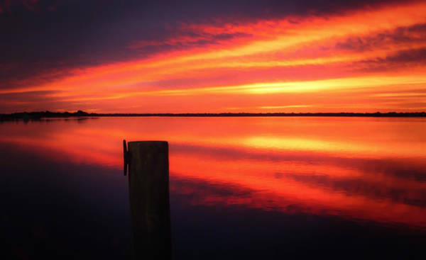 Dock Of The Bay Photograph - Morning Beacon by Karen Wiles