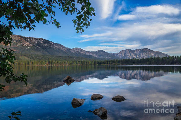 Fallen Leaf Lake Photograph - Morning Bliss by Mitch Shindelbower