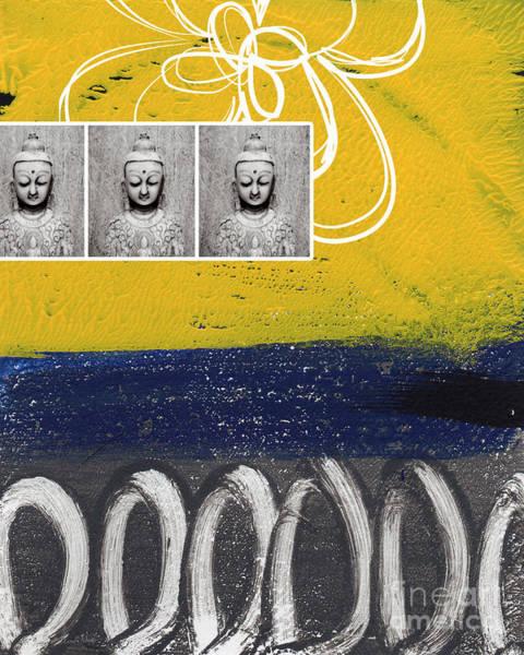 Buddhist Painting - Morning Buddha by Linda Woods