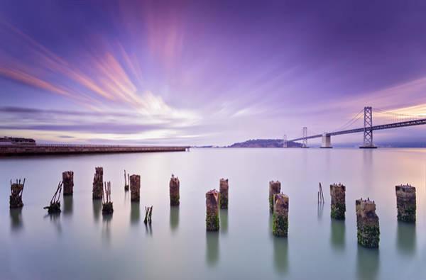 San Francisco Photograph - Morning Calmness - San Francisco Bay by David Yu