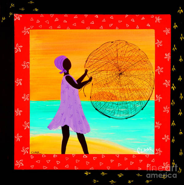 Gullah People Wall Art - Painting - Morning Cast by Samantha Claar