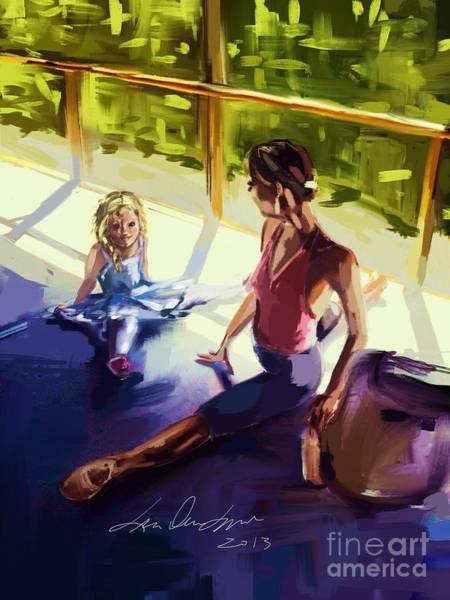 Painting - Morning Class by Lisa Owen-Lynch