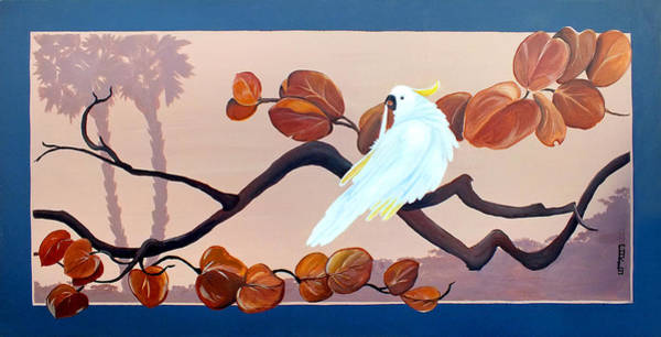 Painting - Morning Cockatoo by Chris McCullough