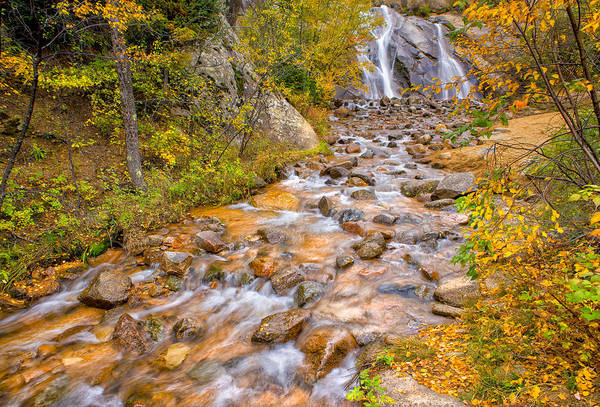 Helen Hunt Falls Photograph - Morning Colors by Tim Reaves