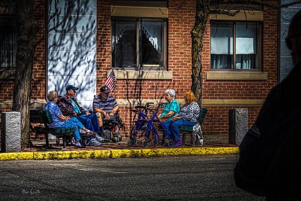 Photograph - Morning Conversation by Bob Orsillo