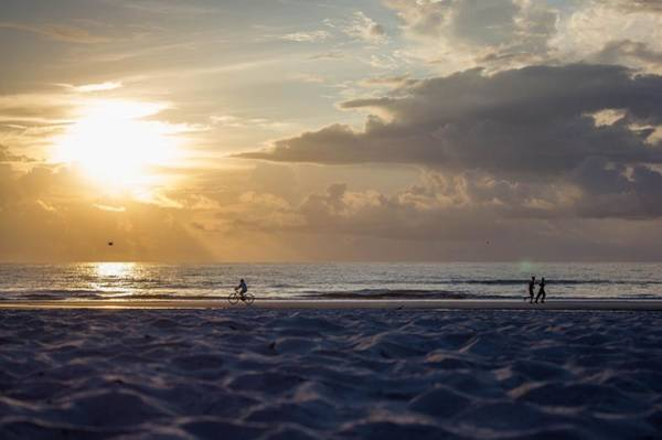 Photograph - Morning Exercise  by Tyson Kinnison