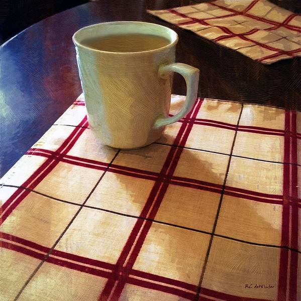 Painting - Morning Fix by RC DeWinter