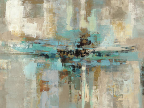 Neutral Wall Art - Painting - Morning Fjord by Silvia Vassileva
