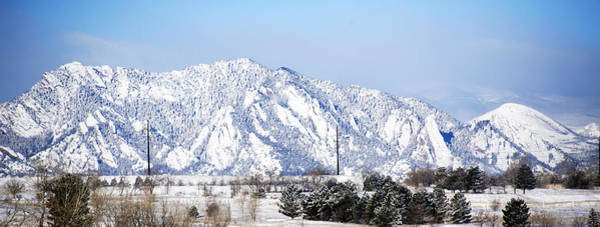Photograph - Morning Flatirons by Marilyn Hunt