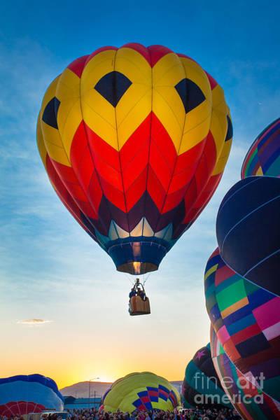 Festivals Photograph - Morning Flight by Inge Johnsson
