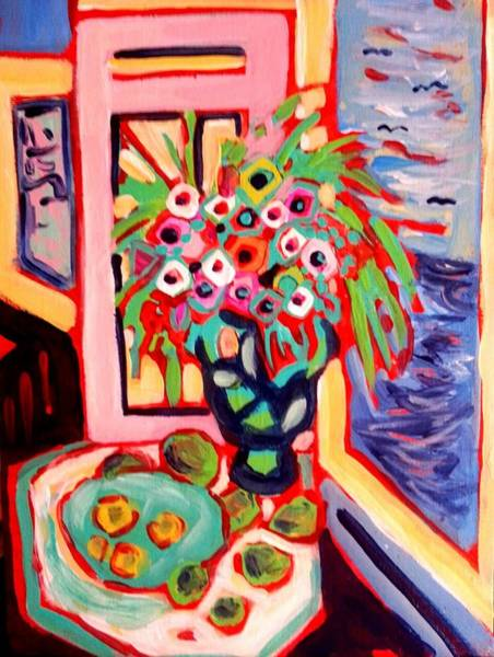 Morning Floral Art Print