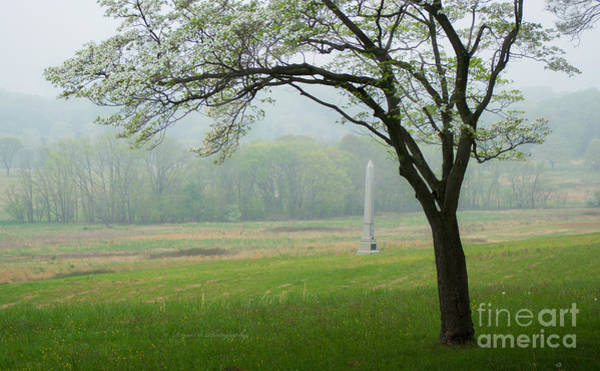 Photograph - Morning Fog At The Monument by Rima Biswas