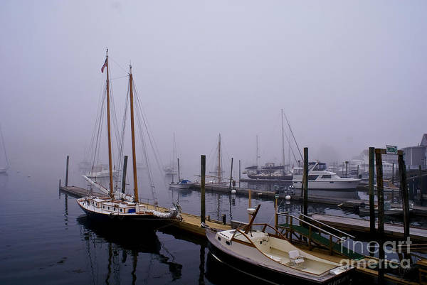Photograph - Morning Fog. by New England Photography
