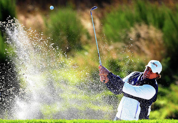 Trapped Photograph - Morning Fourballs - 2014 Ryder Cup by Harry How