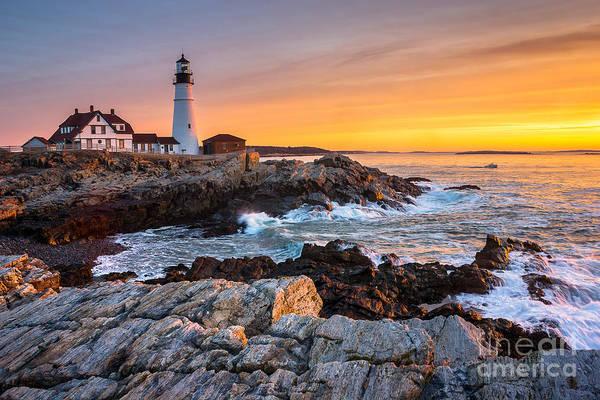 Cape Elizabeth Photograph - Morning Glory by Benjamin Williamson