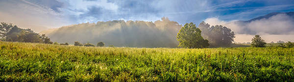 Photograph - Morning Glory In Cades Cove by Keith Allen