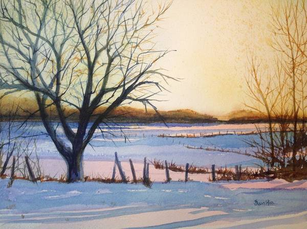 Painting - Morning Glow by Judy Fischer Walton