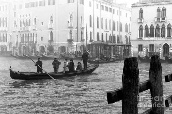 Wall Art - Photograph - Morning Gondola In Venice by John Rizzuto