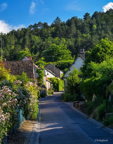 Photograph - Morning In Giverny by Allen Sheffield