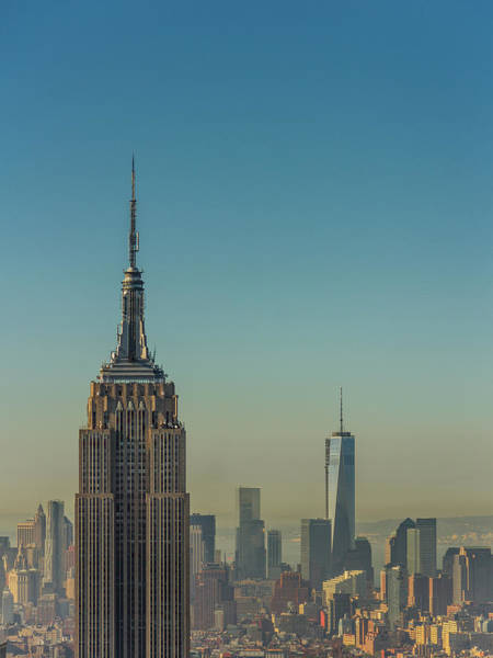 Photograph - Morning In Manhattan by A Photo By Fletche